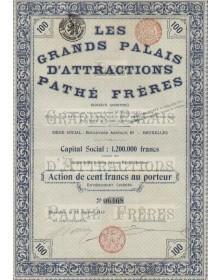 Les Grands Palais d'Attractions Pathé Frères