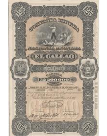 Compañia Minera Nacional Anonima El Callao. 1887