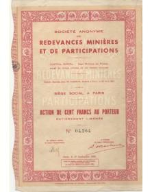 Redevances Minières et de Participations