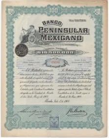 "Banco Peninsular Mexicano (""Twin Ladies"")"