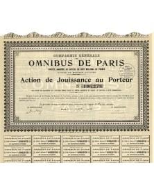 Cie Générale des Omnibus de...