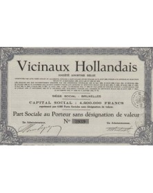 Vicinaux Hollandais S.A. Belge