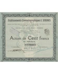 Ets Cinématographiques E. Servaes, Marseille