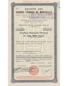 Sté des Grands Travaux de Marseille