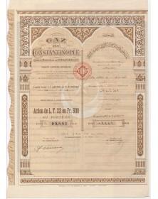 Gaz de Constantinople - Cercles Municipaux de Pera & Yenikeuy