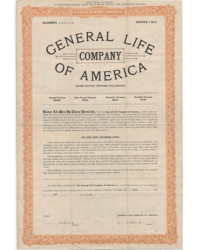 General Life of America Company