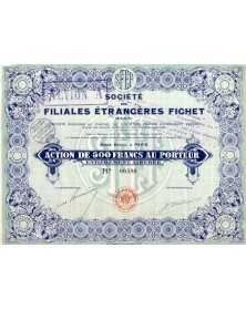Société des Filiales Etrangères Fichet (SFEF)