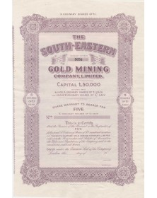 The South-Eastern Gold Mining Company, Ltd.