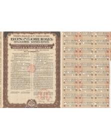 République Chinoise - 5% Gold Bond 1925. Cancelled