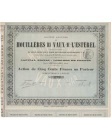 S.A. des Houillères des Vaux-de-l'Esterel (Var)