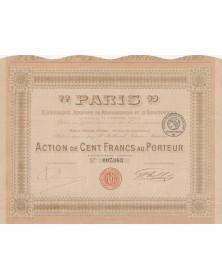 """""""Paris"""" Cie Anonyme de Réassurances et d'Assurances"""