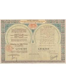 Empire Chérifien, Protectorat de la République Française au Maroc - Emprunts 4% 1930/1931 regroupés