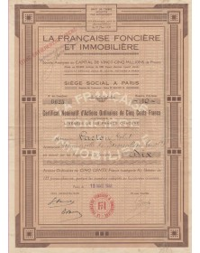 La Française Foncière et Immobilière (FFI)