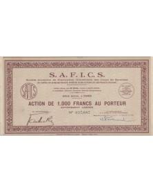 SAFICS S.A. de Fabrication...