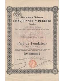 Anciennes Maisons Chardonnet & Ruggeri