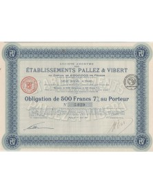 S.A. des Ets Pallez & Vibert