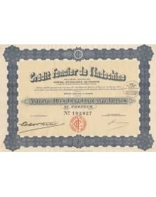 Crédit Foncier de l'Indochine. 1925