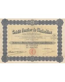 Crédit Foncier de l'Indochine. 1928