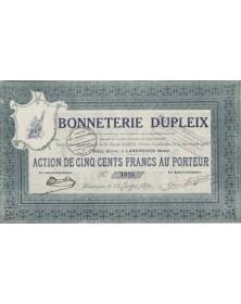 Bonneterie Dupleix