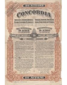 Concordia, S.A. Roumaine pour l'Industrie du Pétrole. 1924