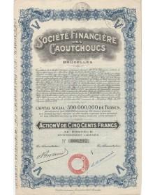 Sté Financière des Caoutchoucs