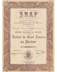 SNAP S.A. (Science Nouvelle et ses Applications Pratiques)