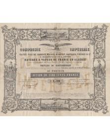 Cie Impériale Bateaux à Vapeur de France en Algérie