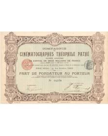 Cie des Cinématographes Théophile Pathé