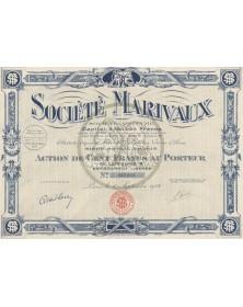 Société Marivaux. 1928