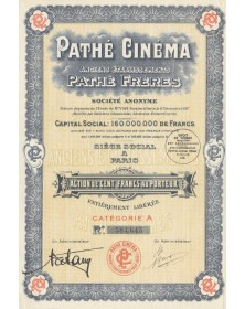 Pathé Cinéma, Anciens Ets Pathé Frères