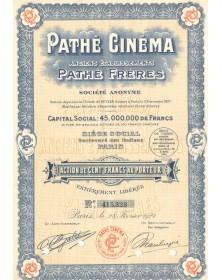 Pathé Cinéma, Anciens Ets Pathé Frères. 1924