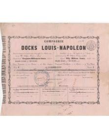 Cie des Docks Louis-Napoléon