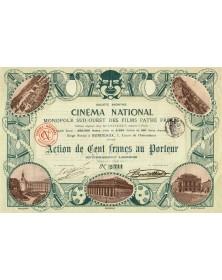S.A. Cinéma National. Monopole Sud-Ouest des Films Pathé Frères