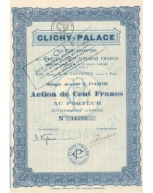Clichy-Palace S.A. / SCIF