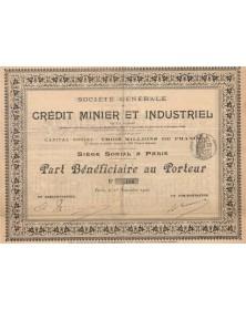 Sté Générale du Crédit Minier et Industriel