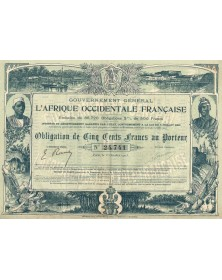 Gouvernement Général de l'Afrique Occidentale Française. 1903