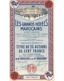 Les Grands Hôtels Marocains...