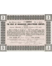 The West of Madagascar Anglo-French Co.,Ltd.