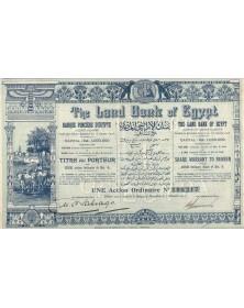 The Land Bank of Egypt. Banque Foncière d'Egypte (Capital 1000K€)