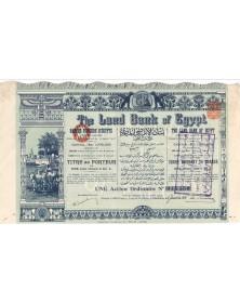 The Land Bank of Egypt. 1931 (Capital 1,000,000£)