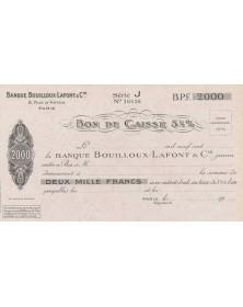 Banque Bouilloux - Lafont & Cie