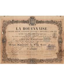 La Rouennaise. Insurance Company