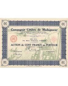 Cie Côtière de Madagascar