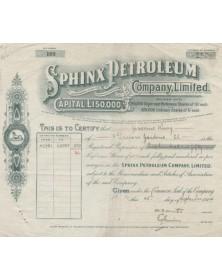 Sphinx Petroleum Co.,Ltd.