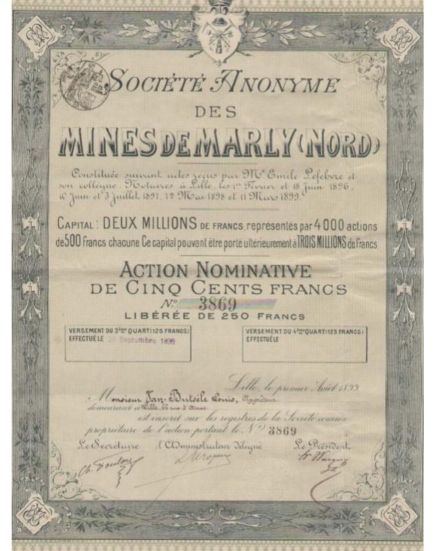 S.A. des Mines de Marly (Nord)