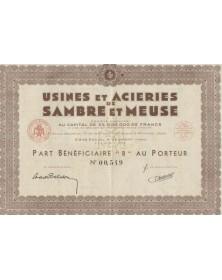 Usines et Acieries de Sambre et Meuse