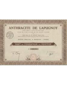 Anthracite de Lapugnoy