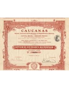 Caucanas - Recherches et Exploitations Minières
