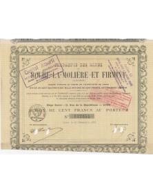 Cie des Mines Roche-la-Molière et Firminy