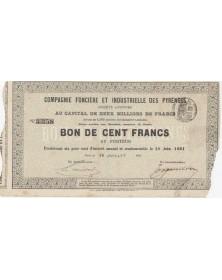 Cie Foncière et Industrielle des Pyrénées